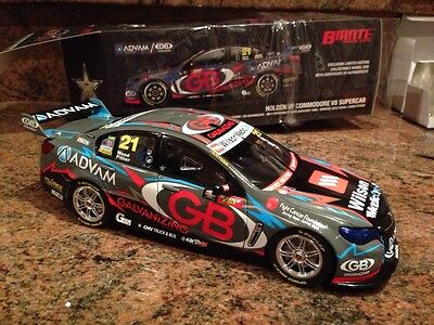 1/18 2014 TEAM ADVAM / GB GALVANIZING BATHURST 1000 WOOD / PITHER Only 504 Made