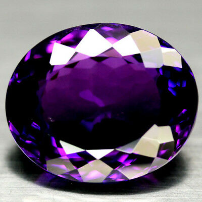32.37 CT AAA! 19 X 23 mm. PURPLE CLR CHANGE TO PINK BRAZILIAN AMETHYST OVAL