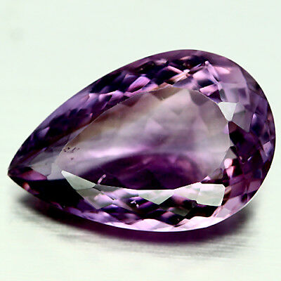 12.99 Ct Aaa Natural Purple Clr Change To Pink Brazil Amethyst Pear