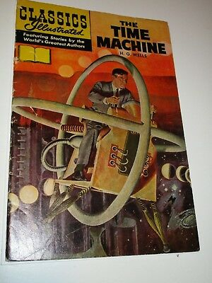 Classics Illustrated 133 Time Machine HRN 167  **VARIANT NO PRICE ON COVER**