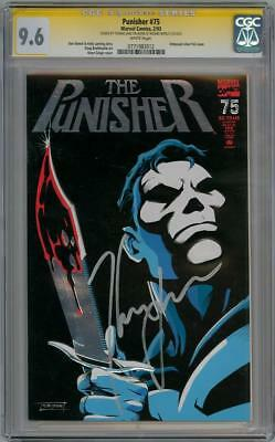 The Punisher #75 Cgc 9.6 Signature Series Signed Thomas Jane Movie Not Netflix