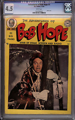 Adventures of Bob Hope #1 - CGC 4.5!