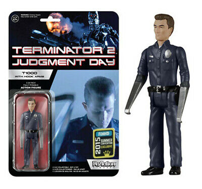 Terminator T-1000 w Hook Arms ReAction Actionfigur 10 cm SDCC Exclusive Funko