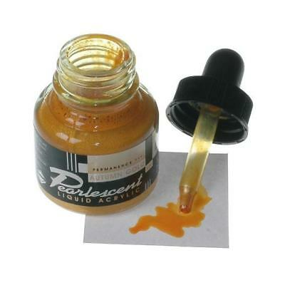 Daler Pearlescent FW Ink - 29.5ml Autumn Gold