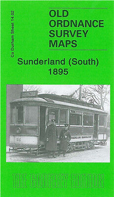 Old Ordnance Survey Map Sunderland South Mowbray Road Hendon Moor Hill 1895