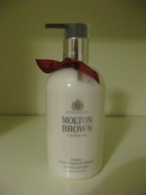 Molton Brown Festive Frankincense & Allspice Hand Lotion 300ml - New