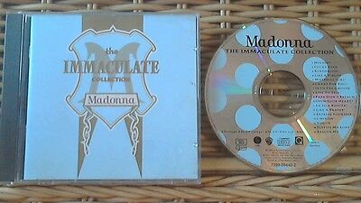 Madonna-The Immaculate Collection Cd (Greatest Hits) Us/german **nr Mint Cd**