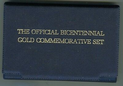 Docs Official Bicentennial Gold Commemorative Coin-.999 Fine Solid Gold Feb 1975