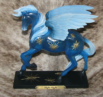 TRAIL OF PAINTED PONIES Night Flight 1E/1347~Translucent Winged Myth Horse~
