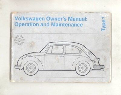 volkswagen european automobiles advertising collectibles page 31 rh picclick com 1973 vw thing owners manual 1973 vw thing service manual
