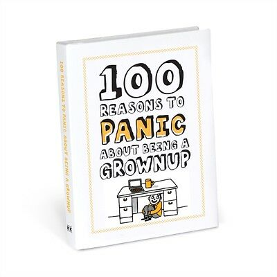 100 Reasons To Panic About Being A Grown, Knock Knock, 9781601067838