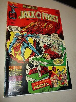 Harvey Thriller Giant Size Unearthly Spectacular Jack Q Frost #2 Solid Grade