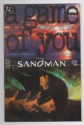 DC Comics The Sandman #36 A Game of You Part Five Copper Age
