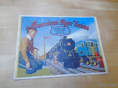 ORIGINAL American Flyer 1930 Toy Trains Catalog - Great Condition