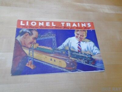 ORIGINAL Lionel 1934 Toy Trains Catalog - Great Condition