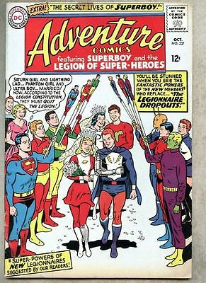 Adventure Comics #337-1965 vg Legion of Super-Heroes / Superboy