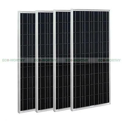 400watt  4*100W 12Volt PV Solar Panel Advanced Solar kit for 12V Home Boat RV