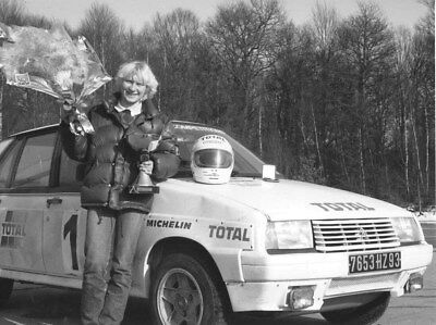 1984 Citroen Visa Competition Patricia Bertapelle ORIGINAL Factory Photo oub9849
