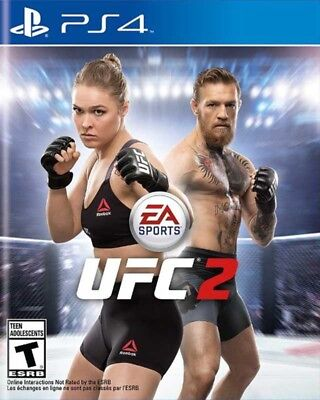 EA Sport UFC 2 PS4 Game BRAND NEW SEALED