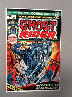 Ghost Rider #1 (Marvel Comics 1973) 1st Hellstorm Son Of Satan NM- 9.2