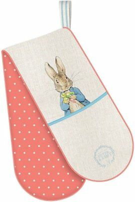 PETER RABBIT Classic Design DOUBLE OVEN GLOVE Polka Dot