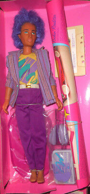 Vintage Hasbro JEM and the Holograms RIO doll w/Accessories - No Box