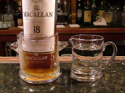 Macallan Ice Bucket and Water Pitcher Glass Gift set