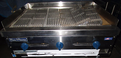 """New Blue Flame 36"""" Char Broiler 3 Burner Grill Radiant  Local Pickup Only (160)"""