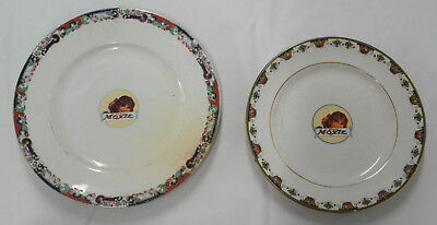 2 Vintage Moxie Cola advertising Plates -  004