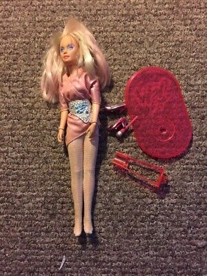 Hasbro Vintage JEM and the Holograms Jerrica doll with parts accessories 1986
