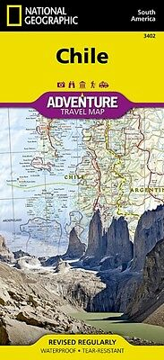 Chile adv. ng r/v (r) wp - 1/1,75M (Adventure Map (Numbered)) (Ma. 9781566955461