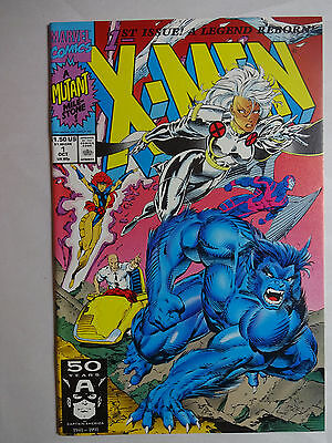 X-Men #1   High Grade  NM    Storm   Beast    Jim Lee   Chris Claremont