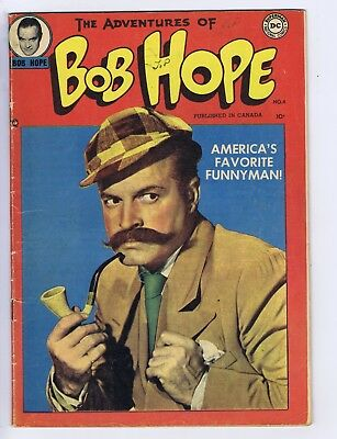 Adventures of Bob Hope #4 Simcoe 1951 CANADIAN EDITION