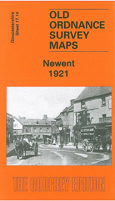 Old Ordnance Survey Map Newent 1921 Boulsdon Stardens Picklenash Oxenhall