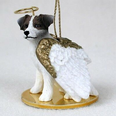 Jack Russell Terrier Dog ANGEL Tiny One Ornament Figurine Statue