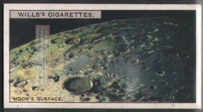 Surface of the Moon  Solar System Astronomy  c90 Y/O Trade Ad Card