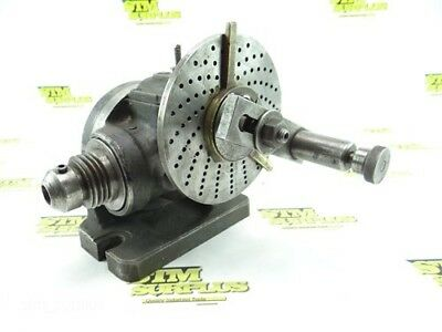 """Carroll 6"""" Dividing Indexing Head 1-3/4""""-6 Threads"""