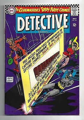 Detective Comics #351  Very Fine Near Mint 9.0!  Very High Grade!  White Pages!