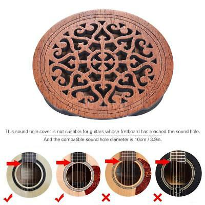 Guitar Feedback Buster Soundhole Cover Sound Buffer Protector Free Ship Hot I3G4