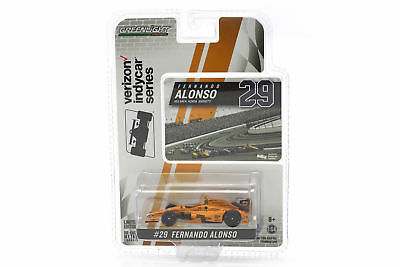 Fernando Alonso Indycar Honda #29 Indy 500 2017 1:64 Greenlight
