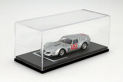 BBR Display Cabinet with Grid Line Surface for Model Cars on a Scale of 1:43