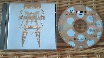 Madonna-The Immaculate Collection CD **GREATEST HITS** NR MINT CD**FREE POST