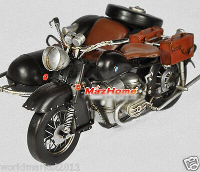 Retro L41*W29*H18CM Iron Motorcyle Model/Collector's Edition/Furnishing Articles