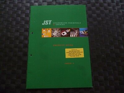 Jst Solderless Terminals & Splices Product Guide Issue 3 Rare Item *as Pictures*