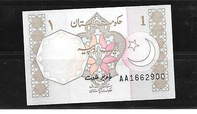 Pakistan #27J Uncirculated Old Rupee Banknote Paper Money Currency Bill Note