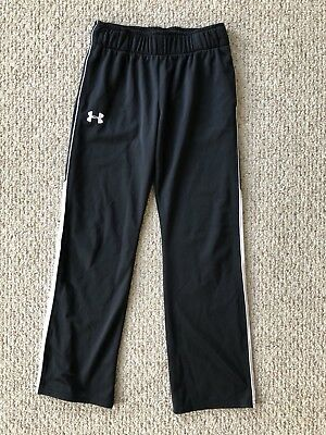 Girls Under Armour Loose Track Pants Sweatpants Youth X Large EUC