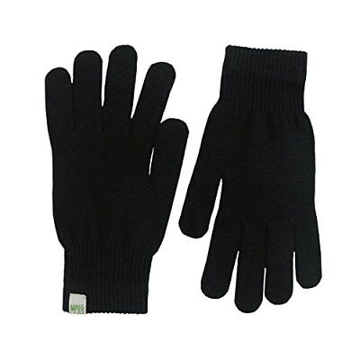 Minus33 Merino Wool Glove Liner Black, Black, X-Large New
