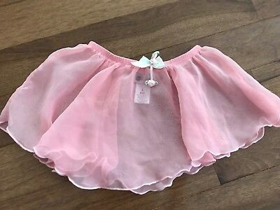 Pre-owned Girls Pink Dance wear Skirt Size 6X
