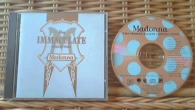 Madonna-The Immaculate Collection Greatest Hits **nr Mint Cd** Free Post