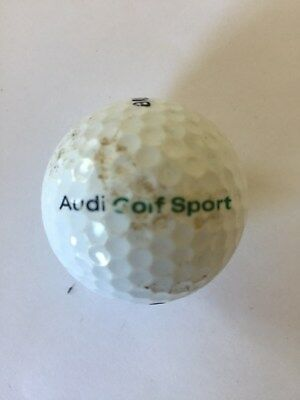 Logo Ball Audi Golf Sport